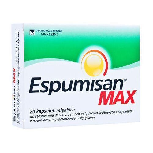 Kapsułki ESPUMISAN MAX x 20 kapsułek