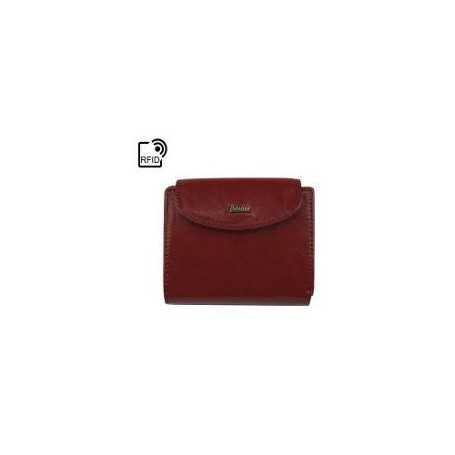5de4f73b99da3 Zobacz ofertę Mały damski czerwony portfel skórzany Peterson PL 405 RFiD