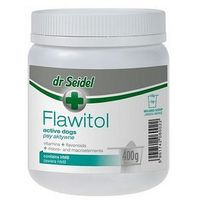 Dr.seidel Dr seidel flawitol z hmb dla psów aktywnych proszek 400g (5901742060022)