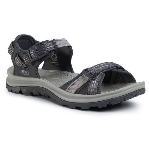 Sandały KEEN - Terradora II Open Toe Sandal 1022448 Dark Grey/Dawn Pink, kolor szary