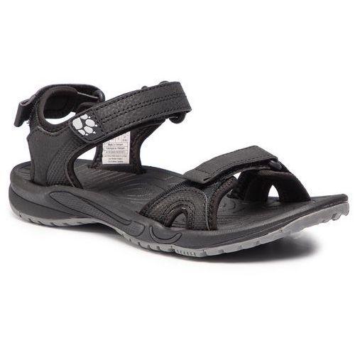 Sandały JACK WOLFSKIN - Lakewood Cruise Sandal W 4019032 Black, kolor czarny