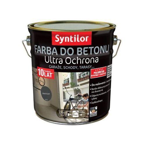 Farba Do Betonu Ultra Ochrona 25 L Grafitowy Syntilor