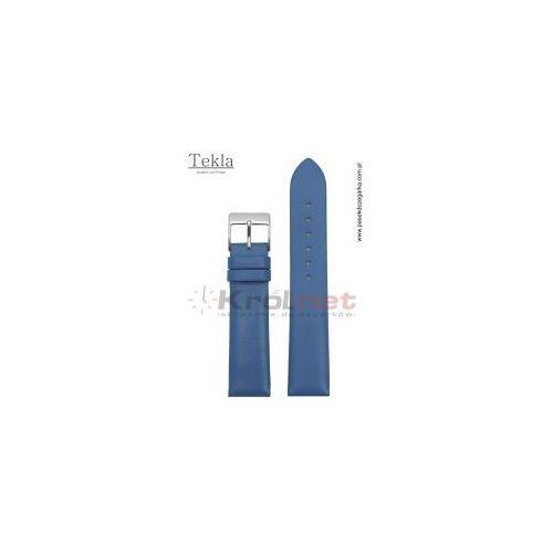 Pasek do zegarka TK126NIE/18 - gładki, niebieski