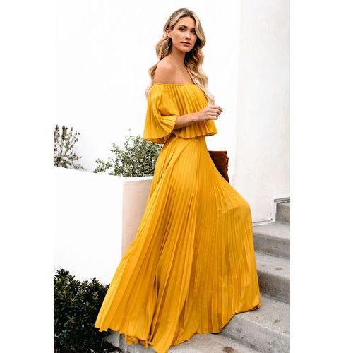 Sukienka LELA MUSTARD