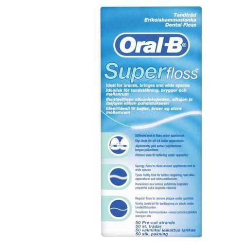 Braun oral-b Oral b nić dentystyczna super floss 50 odcinków