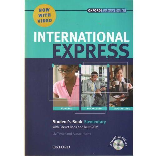 International Express Elementary SB Pack (DVD-ROM) - Liz Taylor, Adrian Wallwork, oprawa broszurowa