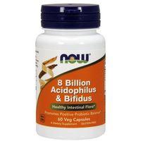 Kapsułki Now Foods 8 Bilion Acidophilus & Bifidus 60 kaps.