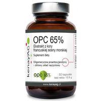 OPC 65 % - Ekstrakt z kory francuskiej sosny morskiej (60 kaps.) Kenay AG (5900672152999)