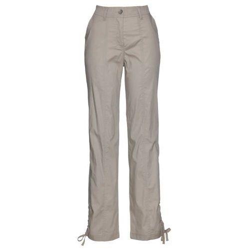 Bonprix Spodnie z polaru (2 pary) ciemnoniebieski + szary melanż
