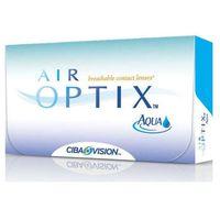 Soczewki kontaktowe Air Optix Aqua x 6 sztuk