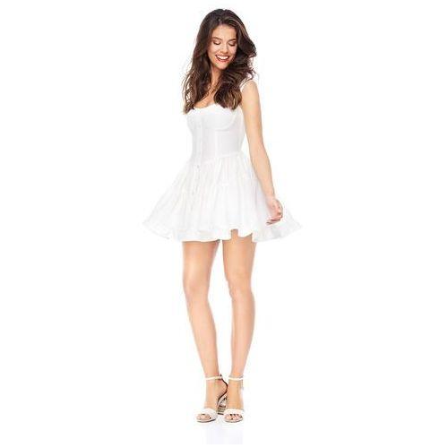 Sukienka costa calma w kolorze białym, Sugarfree, 36-40