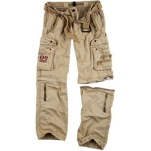 Surplus spodnie trekkingowe royal outback 2w1 piaskowe - piaskowy