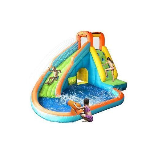 Happyhop Dmuchana zjeżdżalnia wodna z basenem -
