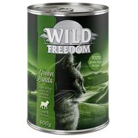 Wild freedom adult, 6 x 400 g - green lands - jagnięcina i kurczak