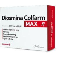 Diosmina Colfarm Max, 60 tabletek - Długi termin ważności! DARMOWA DOSTAWA od 39,99zł do 2kg! (5909991344337)