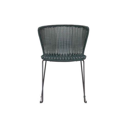 krzesło wings (2 szt) zielone 378616-f marki Woood
