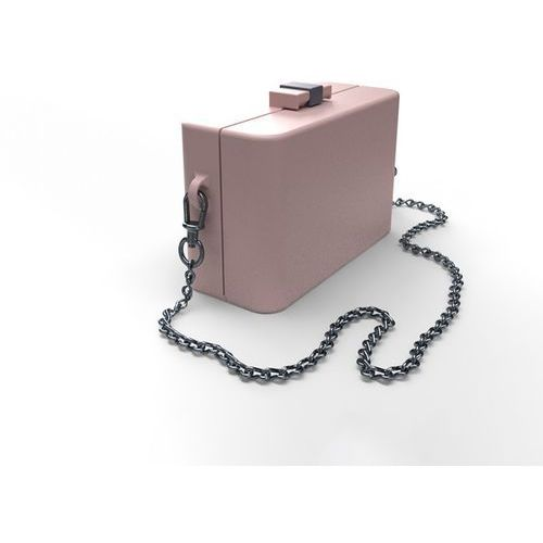 Torebka damska NanoCubie pastel pink, kolor różowy