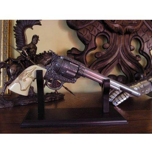Hiszpania Replika broni - colt peacemaker z 1873 r z głową bizona (10206)
