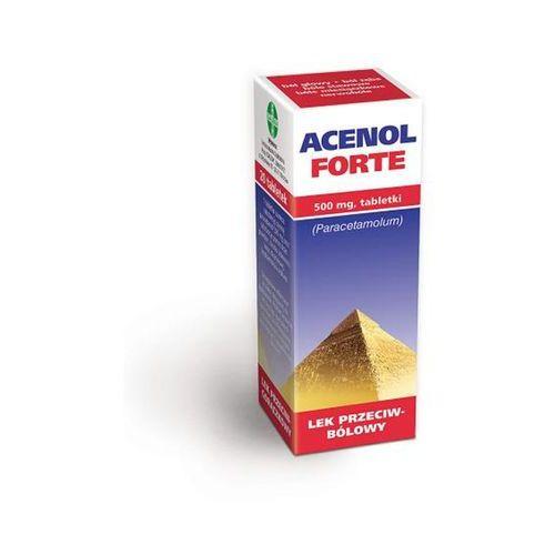 Tabletki Acenol Forte, 500 mg, tabl.,20 szt