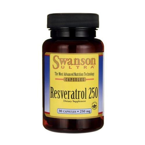 Swanson Resveratrol 250mg 30 kaps.