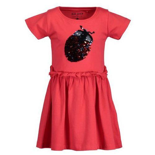4fbcadda3f Zobacz ofertę Blue Seven sukienka dziewczęca z cekinami 116 czerwona