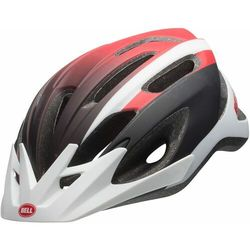 kask rowerowy crest mat white/red/black 54-61 cm marki Bell