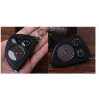 Krzywomierz + Kompas + Termometr + Karabińczyk.