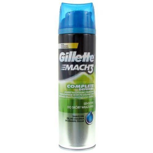 Gillette mach3 żel do golenia sensitive 200 ml