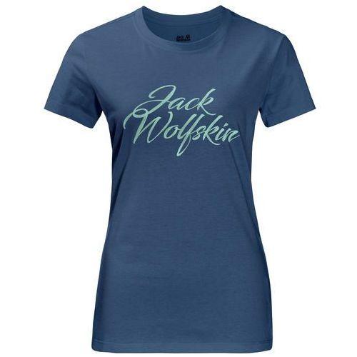 Koszulka brand t women - ocean wave Jack wolfskin