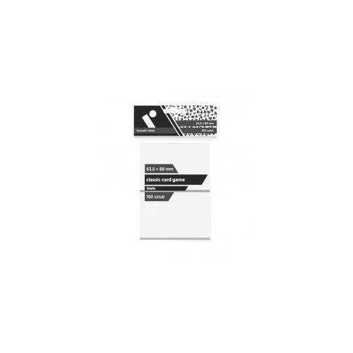 Koszulki CCG białe 63,5x88 (100sztuk) REBEL