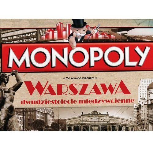 Winning moves Hasbro monopoly warszawa xxlecie