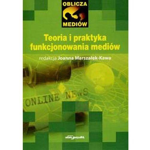Teoria i praktyka funkcjonowania mediów - Wysyłka od 3,99 - porównuj ceny z wysyłką (320 str.)