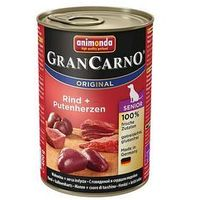 12 x 400 g Animonda GranCarno Original Junior/Senior w super cenie! - Senior, 2 smaki (4017721827386)