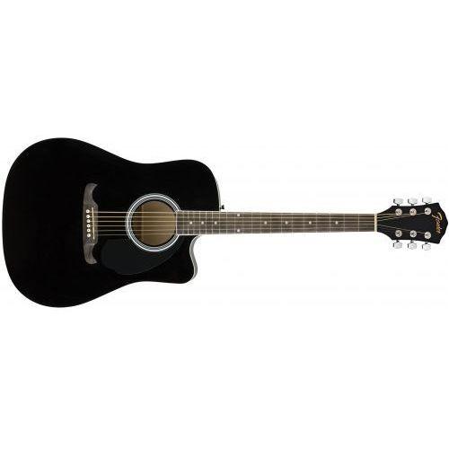 Fender FA-125CE Dreadnought Black gitara elektroakustyczna