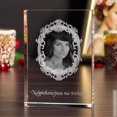 Na urodziny dla żony  Kryształy3D.pl