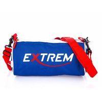 Sportowa torebka turystyczna okrągła walec Extrem niebieska