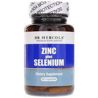 Kapsułki Dr Mercola Zinc plus Selenium - 30 kapsułek