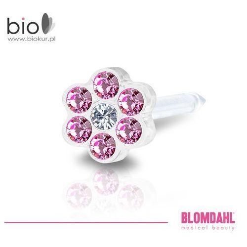 Kolczyk do przekłuwania uszu - daisy rose / crystal 5 mm marki Blomdahl