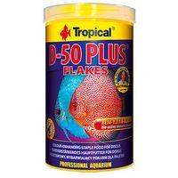 TROPICAL D-50 Plus z wit. C - pokarm wybarwiający dla paletek 1l/200g