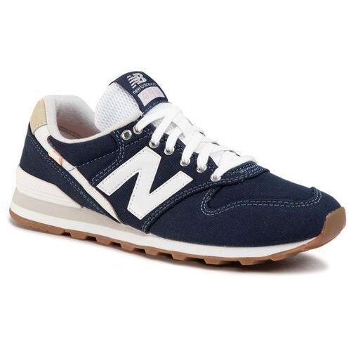 New balance Sneakersy - wl996wcc granatowy