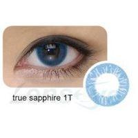 Cool Look, 2 szt. - 1-tone True Sapphire + gratis płyn