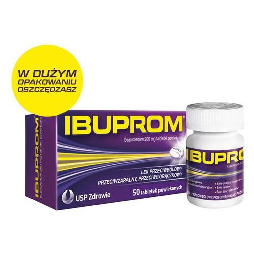 Tabletki IBUPROM x 50 tabletek