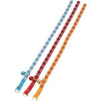 """Obroża dla kota """"Colorful"""" 10mm/30cm: kolor - czerwony DOSTAWA 24h GRATIS od 99zł"""