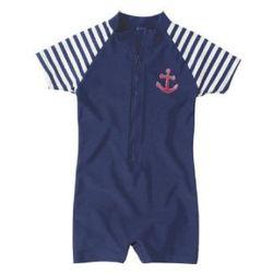 Playshoes boys strój kąpielowy jednoczęściowy maritim marine