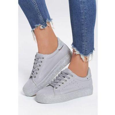 0728164f5 rieker m2840 40 skorzane szare buty sportowe damskie w kategorii ...