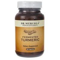 Kapsułki Dr Mercola Fermented Turmeric (sfermentowana kurkuma) - 60 kapsułek