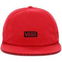 czapka z daszkiem VANS - Vans X Baker Jockey Racing Red (IZQ)
