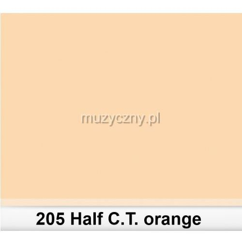 205 half c.t.orange filtr barwny folia - arkusz 50 x 60 cm Lee