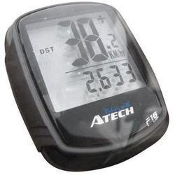 Komputerek, licznik rowerowy ATECH MB-16, 16-funkcji