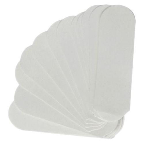 pedicure file wkłady ścierne do pilnika (białe - 180) marki Cuccio